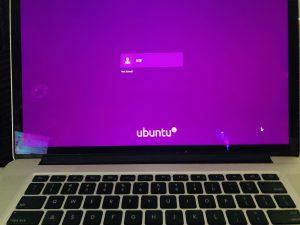 My Mac Running Ubuntu